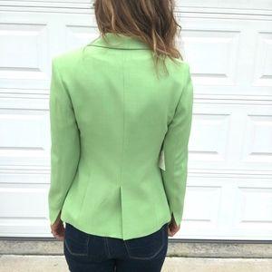 Vintage Jackets & Coats - Vintage Georgiou Studio | Green One Button Blazer